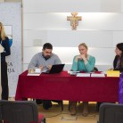 Moderatorica tribine asistentica Valentina Kanić i asistenti Mravunac, Barinić i Brstilo