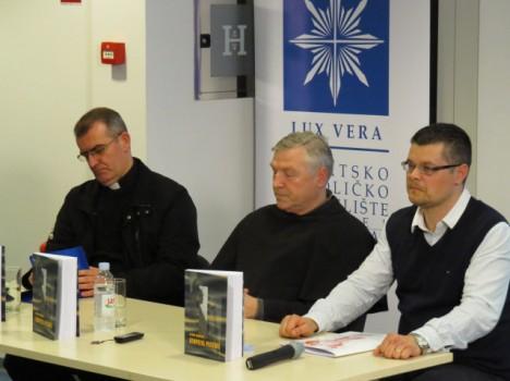 Predstavljači knjige prof. dr. sc. Ivan Bodrožić, fra Antun Badurina i dr. sc. Ivan Botica