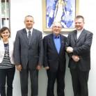 Rektori Tanjić i Nanni s višim asistentima s HKS-a