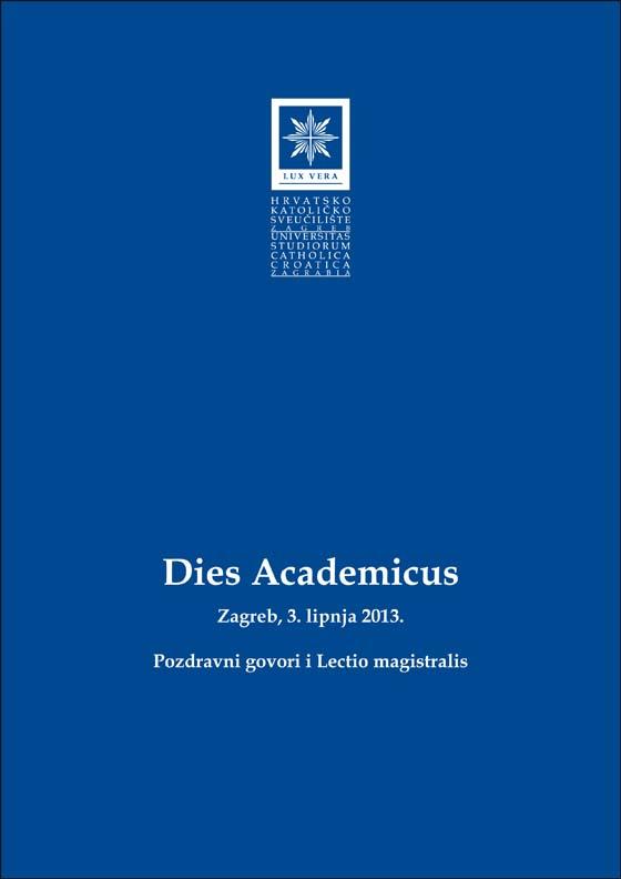Dies Academicus_ Pozdravni govori i lectio magistralis 3_naslovnica