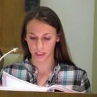 Prvo čitanje čitala je studentica Ružica Dadić