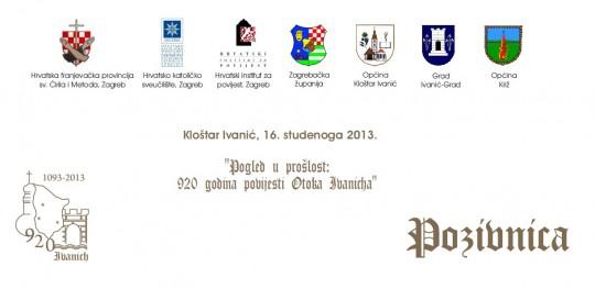 Klostar Ivanic - pozivnica za web