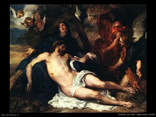 Anthony Van Dyck - Polaganje Krista u grob