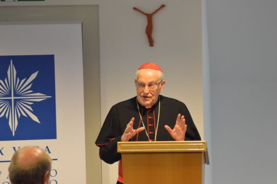 Kardinal Zenon Grocholewski, pročelnik Kongregacije za katolički odgoj