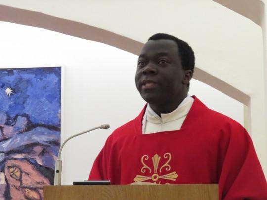 Vlč. Odilon Gbenoukpo Singbo, župni vikar župe Sv. Marka Križevčanina u Zagrebu