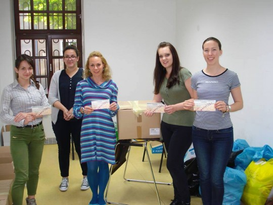 Volonterke HKS-a: Gloria Glibo, Marija Rotim, Valentina Kanić , Dorotea Božić i Anamarija Parać