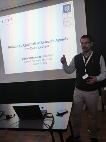 doc. dr. sc. Dario Sambunjak, ETH Zürich