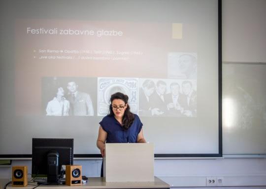 Marija Rotim, studentica 2. godine diplomskog studija povijesti