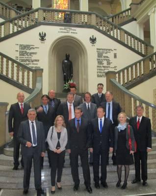 Delegacija Rektorskog zbora i počasni konzul Republike Hrvatske g. Wlodarczyk na AGH sveučilištu znanosti i tehnologije u Krakovu