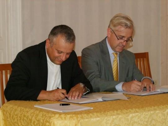 Potpisivanje sporazume između Hrvatskog katoličkog sveučilišta i Université Panthéon-Assas – Paris II