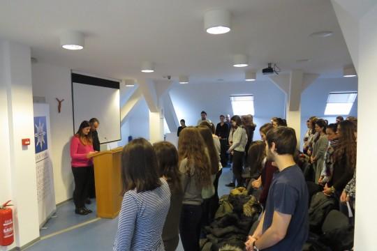 Studenti psihologije na susretu s Rektorom