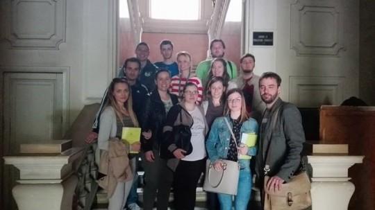 Studenti u posjetu HAZU