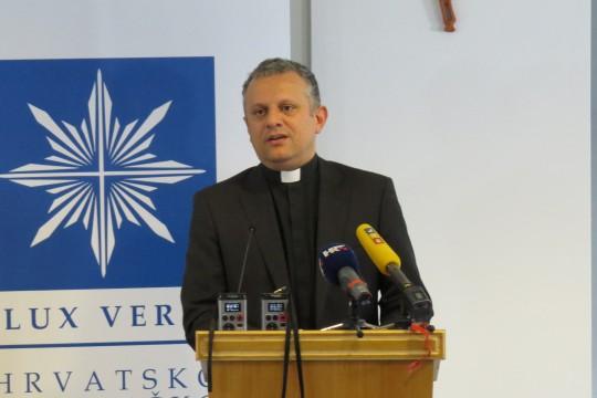 Rektor Hrvatskog katoličkog sveučilišta prof. dr. sc. Željko Tanjić