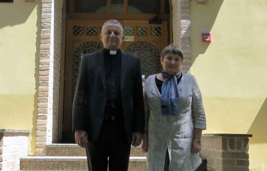 Veleposlanica Izraela u Hrvatskoj Nj. E. gospođa Zina Kalay Kleitman  i rektor HKS-a prof. dr. sc. Željko Tanjić