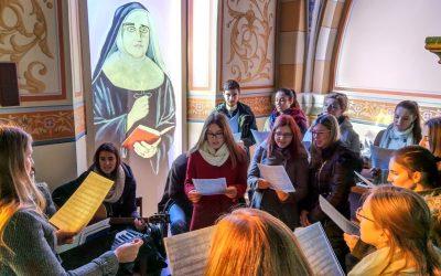 Studenti pjevači u Kozarevcu i Đurđevcu