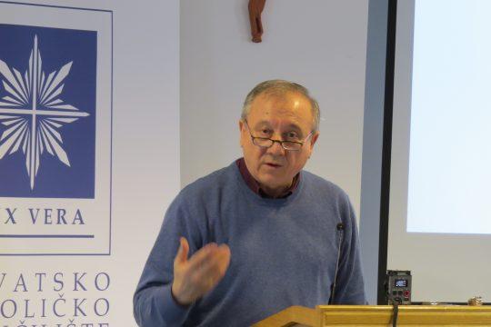 prof. dr. sc. Stjepan Kušar (Hrvatsko katoličko sveučilište)