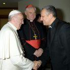 Susret s papom Franjom; Izvor: L'Osservatore romano