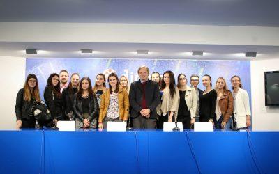 Studenti Odjela za komunikologiju u posjetu GNK Dinamo