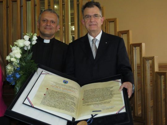 Prof. dr. sc. Željko Tanjić i prof. dr. sc. Emilio Marin