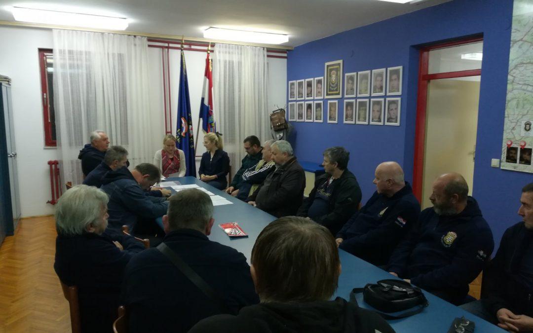 Sastanak s članovima Kluba varaždinskih branitelja 1991.-1995.