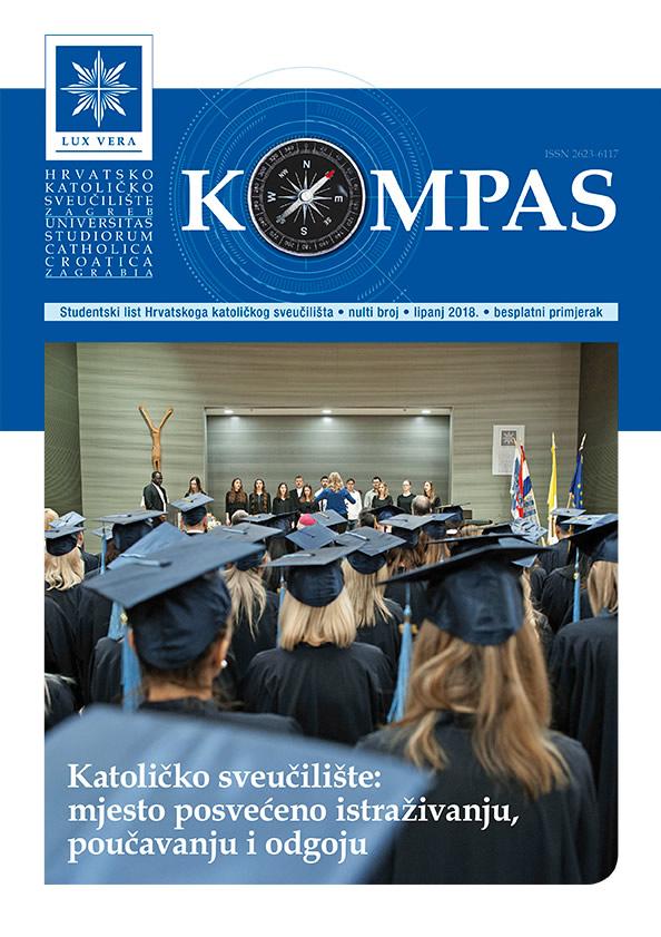 Studentski list Hrvatskoga katoličkog sveučilišta • nulti broj • lipanj 2018.