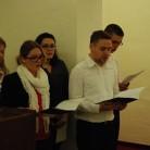 Zbor studenata HKS-a moderira misno slavlje na početku ak. g. 2012./2013.
