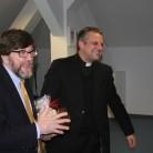 Profesor J. A. McAdams i rektor Željko Tanjić