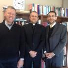 Dr. sc. Pakaluk, rektor Tanjić i vicerektor dr. sc. Dauphinais