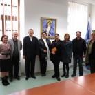 Rektor Tanjićs gospođom Lambrichs i suradnicima