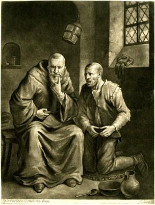 Remissio Peccatorum_Egbert van Heemskerck I; Britishmuseum