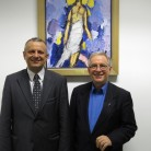 Prof. dr. sc. Željko Tanjić i prof. dr. sc. Carlo Nanni