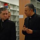 Biskup  Blase J. Cupich i rektor Željko Tanjić