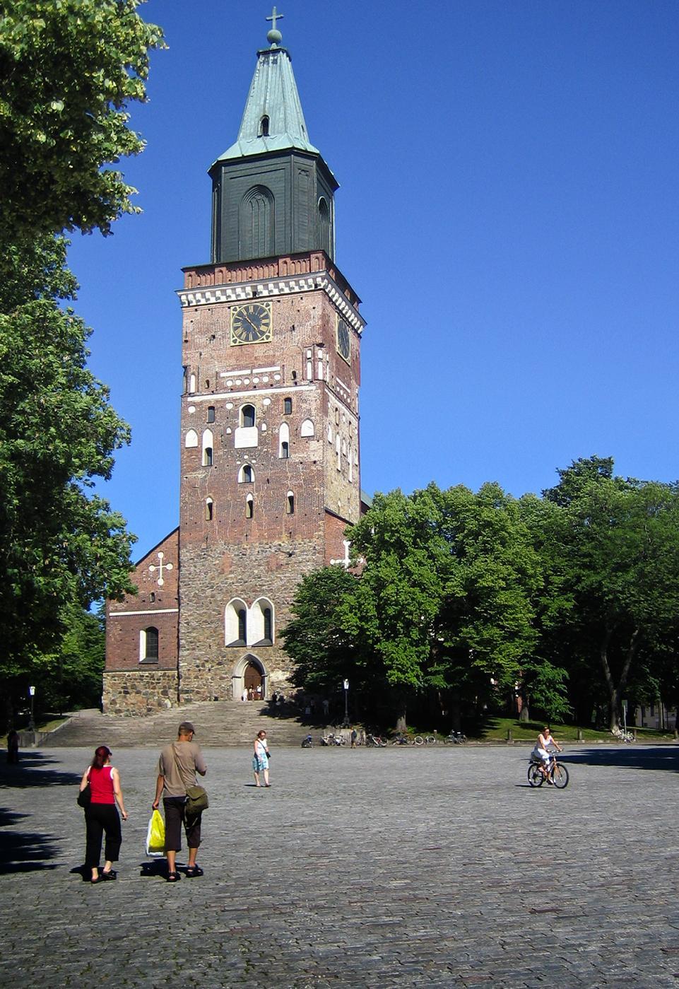 Turku Cathedral.  Photo by Tuomas Martikainen