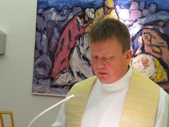 Dr. sc. Krunoslav Novak održao je propovjed povodom prvog dana ljetnog semestra ak. g. 2013./2014.