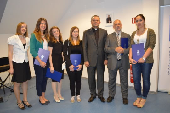 Mihaela Tikvica, Ana Matić, Veronika Novoselac, Valentina Štehec i Nikolina Vuković najbolje su studentice u ak. g. 2012./2013.
