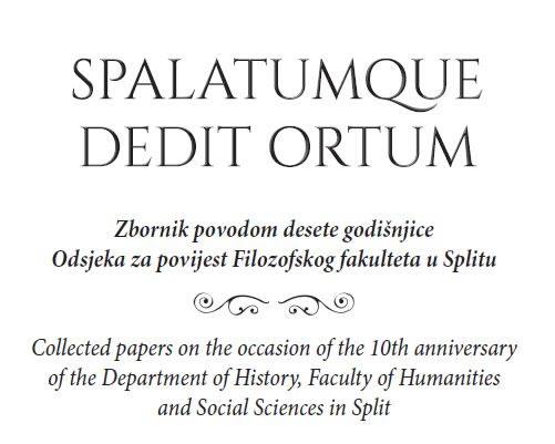 Spalatumque dedit ortum_naslovnica