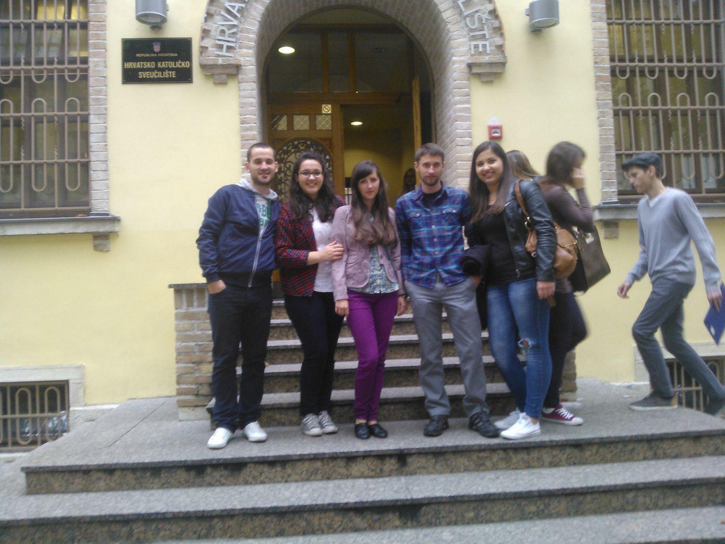 Slovački studenti na HKS-u