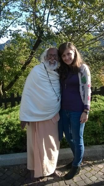 "Irena Sever i Swami Sadanand iz filma ""The heart of a murderer"