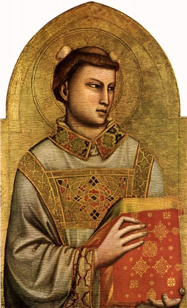 Giotto: Sveti Stjepan, Firenca, Museo Horne