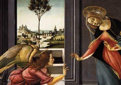 Sandro Botticelli, 1489–1490, L'Annunciazione di Cestello