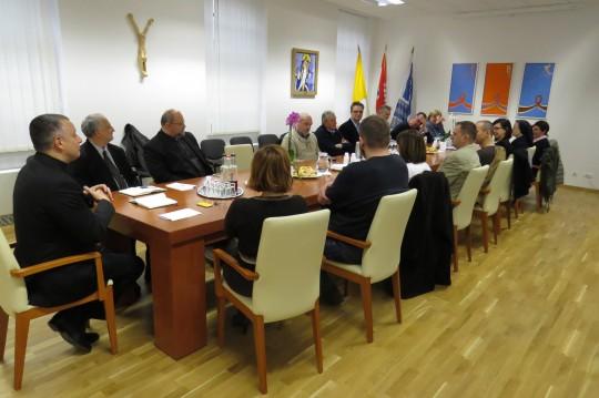 Susret Rektora u Uprave HKS-a s vanjskim suradnicima