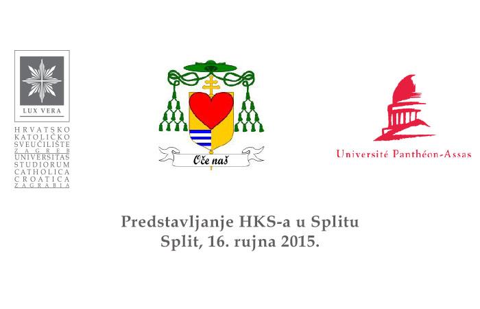 U Splitu potpisivanje sporazuma o suradnji između Hrvatskog katoličkog sveučilišta i pariškog sveučilišta Université Panthéon-Assas – Paris II