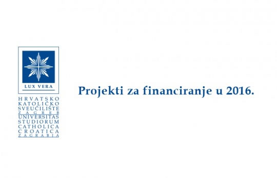 projekti za financiranje 2016