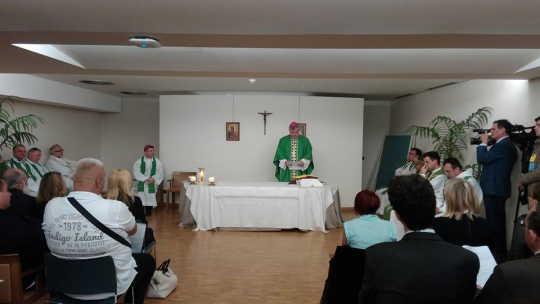 Svetu misu u EU parlamentu predvodio je sisački biskup mons. Vlado Košić