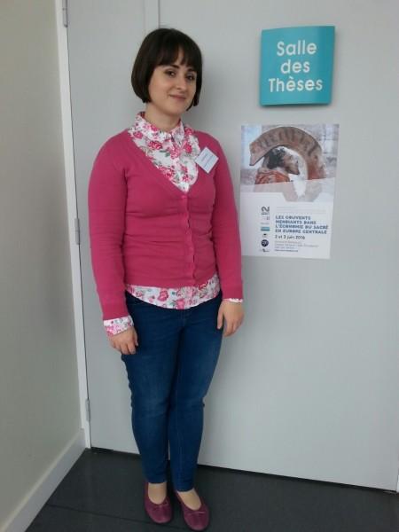 Sanja Miljan na konferenciji u Rennesu