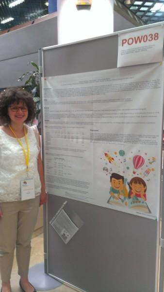 Barbara Brdovcak izložila je svoj poster na konferenciji u Angersu u Francuskoj