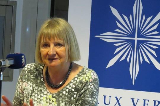 Vera Lengsfeld, bivša zastupnica u Bundestagu (1990.-2005.),  politička zatvorenica i aktivistica za građanska prava u bivšem DDR-u