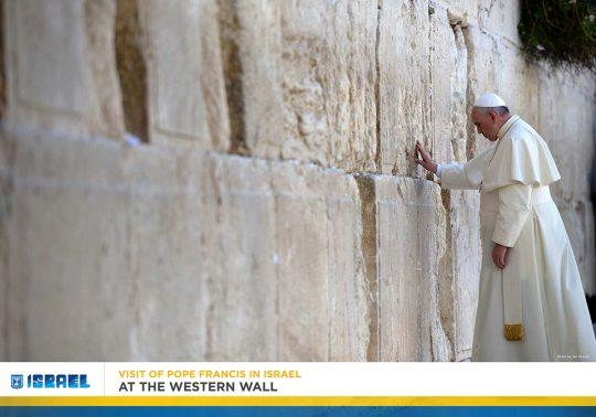 Papa Franjo u Izraelu slide