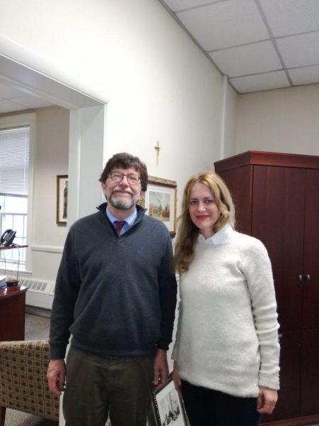 Prof. dr. sc. James Mc Adams i doc. dr. sc. Jasna Ćurković Nimac