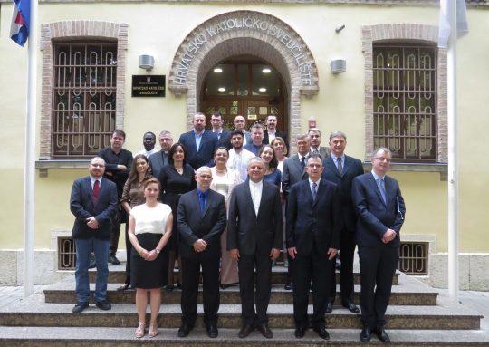 Članovi Senata Hrvatskog katoličkog sveučilišta 6. lipnja 2017.